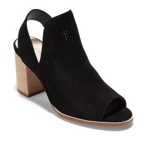 Cole Haan Callista Black Slingback Sandal Size 10